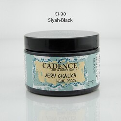 Cadence - Cadence Very Chalky Home Decor Ch-30 Siyah