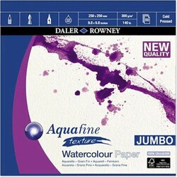 Daler Rowney - Daler Rowney Aquafıne Water Colour 25*25Cm 300Gr Cold Pressed