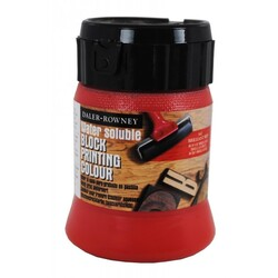 Daler Rowney - Daler Rowney Water Soluble Block Printing Colour Brillant Red 250 ml
