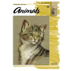 Leonardo Collection - Leonardo Collection Desen Kitabı Animals N: 13 Hayvanlar N: 13