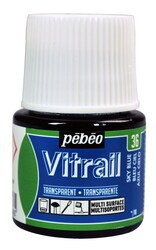 Pebeo - Pebeo Vitrail Cam Boyası 45 ml 36 Light Blue