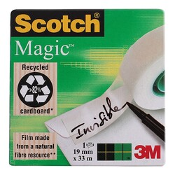 3M - Scotch Magic (Aydınger) Bant Yeşil 19Mmx33M