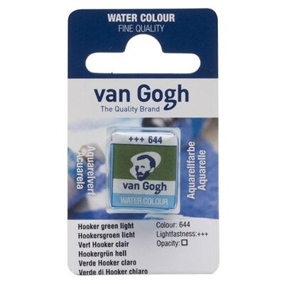 Talens Van Gogh Suluboya Tablet 644 Hooker Green Light