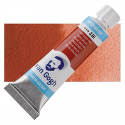 Talens - Talens Van Gogh Watercolour Tube 10ml - 339 Light Oxide Red